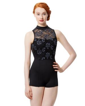 LULLI Dancewear Donne Balletto Calzamaglia/Body/Leotard ELSA senza maniche
