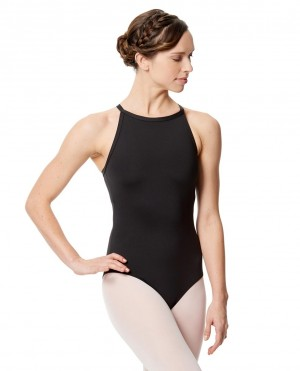 LULLI Dancewear Donne Balletto Calzamaglia/Body/Leotard TALIANA con cavezza