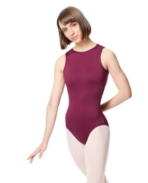 LULLI Dancewear Donne Balletto Calzamaglia/Body/Leotard EDONIA con cavezza
