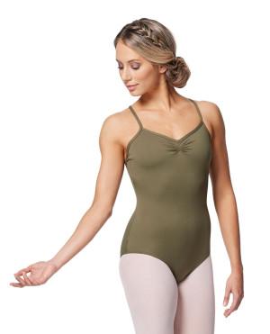 LULLI Dancewear Donne Balletto Calzamaglia/Body/Leotard ELENA senza maniche