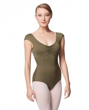 LULLI Dancewear Donne Balletto Calzamaglia/Body/Leotard CINNAMON