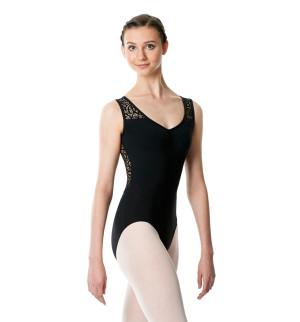 LULLI Dancewear Donne Balletto Calzamaglia/Body/Leotard PHYLLIS senza maniche
