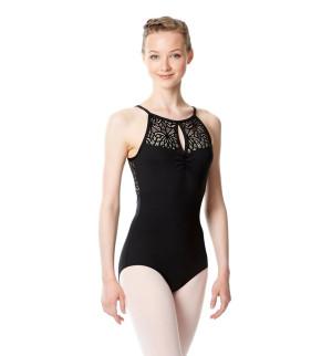 LULLI Dancewear Donne Balletto Calzamaglia/Body/Leotard VICKY senza maniche