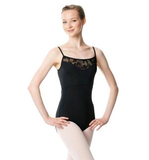 LULLI Dancewear Donne Balletto Calzamaglia/Body/Leotard ASTRID senza maniche
