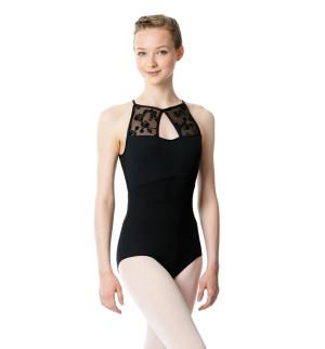 LULLI Dancewear Donne Balletto Calzamaglia/Body/Leotard CLEMENTINE senza maniche