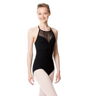 LULLI Dancewear Donne Balletto Calzamaglia/Body/Leotard EDITH senza maniche