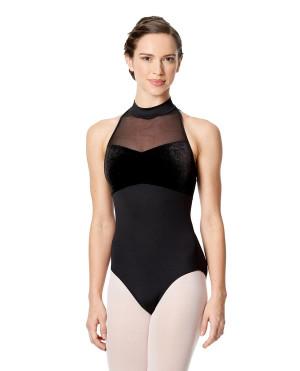 LULLI Dancewear Donne Balletto Calzamaglia/Body/Leotard KAIRA senza maniche