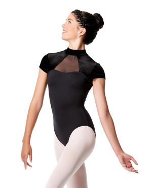 LULLI Dancewear Donne Balletto Calzamaglia/Body/Leotard Valerie con maniche ad aletta