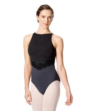 LULLI Dancewear Donne Balletto Calzamaglia/Body/Leotard ANITA con reggiseno a coppa