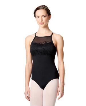 LULLI Dancewear Donne Balletto Calzamaglia/Body/Leotard MAITE con reggiseno a coppa
