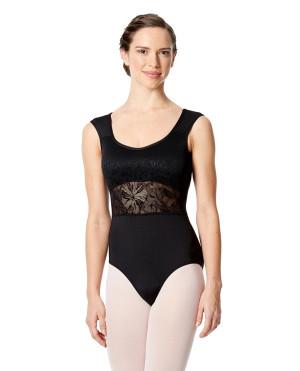LULLI Dancewear Donne Balletto Calzamaglia/Body/Leotard SERAFINA con reggiseno a coppa