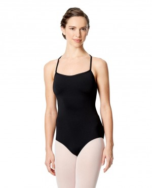 LULLI Dancewear Donne Balletto Calzamaglia/Body/Leotard CECILIA Spaghetti-Träger