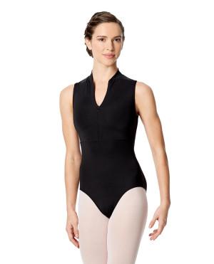 LULLI Dancewear Donne Balletto Calzamaglia/Body/Leotard XIMENA senza maniche