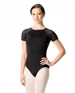 LULLI Dancewear Donne Balletto Calzamaglia/Body/Leotard ALESSIA senza maniche