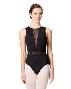 LULLI Dancewear Donne Balletto Calzamaglia/Body/Leotard BETTINA senza maniche