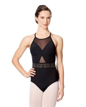 LULLI Dancewear Donne Balletto Calzamaglia/Body/Leotard CLARA senza maniche