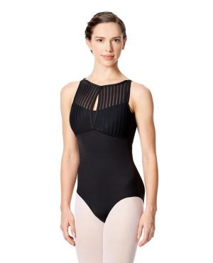 LULLI Dancewear Donne Balletto Calzamaglia/Body/Leotard ELVIRA senza maniche