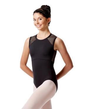 LULLI Dancewear Donne Balletto Calzamaglia/Body/Leotard CATERINA senza maniche
