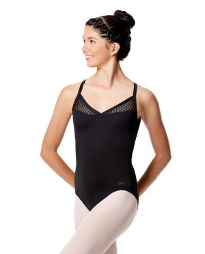 LULLI Dancewear Donne Balletto Calzamaglia/Body/Leotard GIORGIA senza maniche
