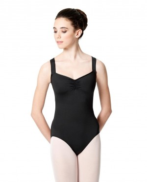 LULLI Dancewear Donne Balletto Calzamaglia/Body/Leotard EUGENIA senza maniche