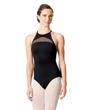 LULLI Dancewear Donne Balletto Calzamaglia/Body/Leotard FABIANA senza maniche