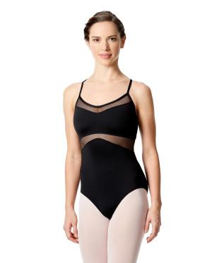 LULLI Dancewear Donne Balletto Calzamaglia/Body/Leotard ANGIE senza maniche