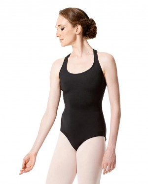LULLI Dancewear Donne Balletto Calzamaglia/Body/Leotard IWONA senza maniche