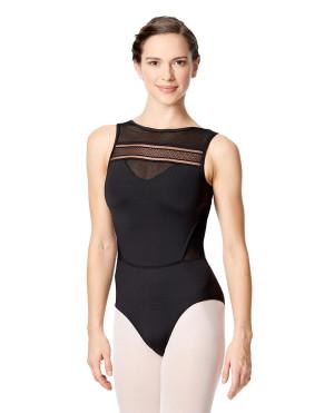 LULLI Dancewear Donne Balletto Calzamaglia/Body/Leotard BOGDANA senza maniche