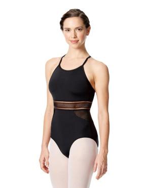 LULLI Dancewear Donne Balletto Calzamaglia/Body/Leotard FLORENCIA senza maniche