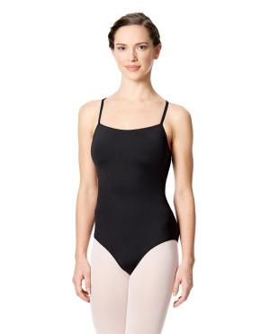 LULLI Dancewear Donne Balletto Calzamaglia/Body/Leotard ANTONELLA senza maniche