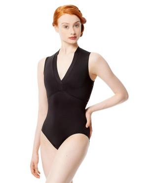 LULLI Dancewear Donne Balletto Calzamaglia/Body/Leotard FERNANDA senza maniche