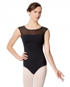 LULLI Dancewear Womens Ballett Body/Leotard MARCELA backless with with cap sleeves