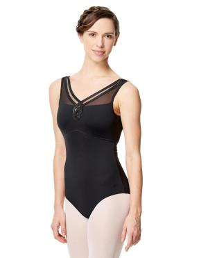 LULLI Dancewear Donne Balletto Calzamaglia/Body/Leotard FLAVIA senza maniche