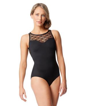 LULLI Dancewear Donne Balletto Calzamaglia/Body/Leotard CAROLE senza maniche