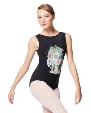 LULLI Dancewear Donne Balletto Calzamaglia/Body/Leotard KARINA senza maniche