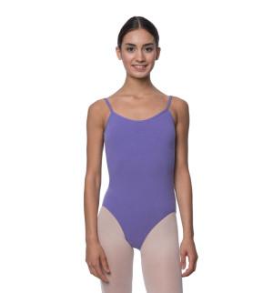 LULLI Dancewear Donne Balletto Calzamaglia/Body/Leotard LILY con spalline sottili