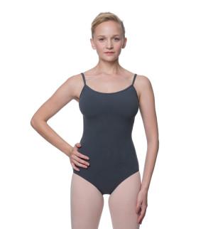 LULLI Dancewear Donne Balletto Calzamaglia/Body/Leotard LIA con spalline sottili