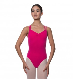 LULLI Dancewear Donne Balletto Calzamaglia/Body/Leotard LARA con spalline sottili