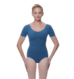 LULLI Dancewear Donne Balletto Calzamaglia/Body/Leotard MCKENZIE con maniche corte