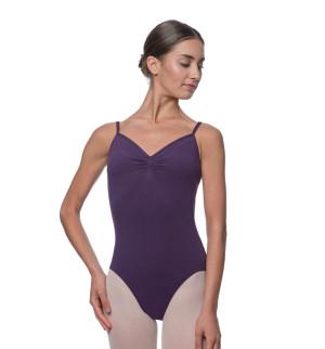LULLI Dancewear Donne Balletto Calzamaglia/Body/Leotard LOURDES senza maniche