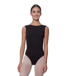 LULLI Dancewear Donne Balletto Calzamaglia/Body/Leotard SABINA senza maniche