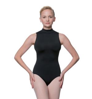 LULLI Dancewear Donne Balletto Calzamaglia/Body/Leotard PENELOPE con colletto rialzato