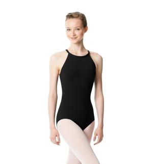 LULLI Dancewear Donne Balletto Calzamaglia/Body/Leotard IVANA con cavezza