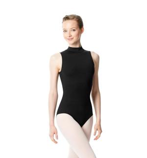 LULLI Dancewear Donne Balletto Calzamaglia/Body/Leotard ANNA con colletto rialzato