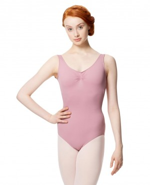 LULLI Dancewear Donne Balletto Calzamaglia/Body/Leotard ADRIEN senza maniche