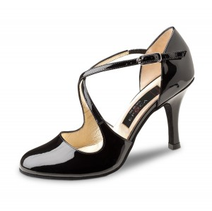 Nueva Epoca - Ladies Dance Shoes Lupe - Black Patent
