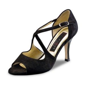 Nueva Epoca - Femmes Chaussures Martha LS - Suède Noir