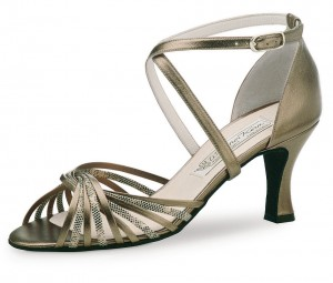 Werner Kern - Femmes Chaussures de Danse Mary - Chevro Antique
