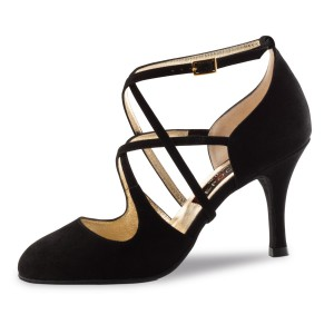 Nueva Epoca - Ladies Dance Shoes Jaida - Suede Black