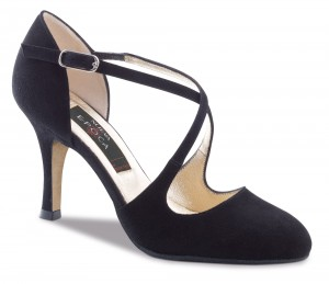 Nueva Epoca - Ladies Dance Shoes Tanja LS - Suede Black